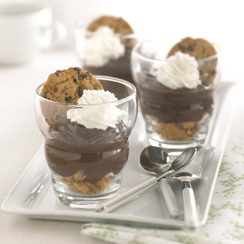 "CHIPS AHOY! Chocolate ""Pie"" Cup Recipe"