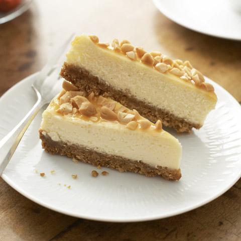 Caramel-Nut Cheesecake Recipe