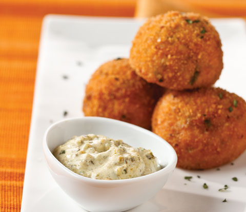 Sweet Potato & Plantain Croquettes made with RITZ Crackers Recipe