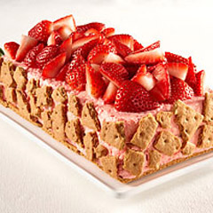 Double-Strawberry Mousse Recipe