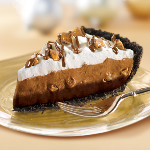 CADBURY Fudge-Bottom Crunch Pie Recipe