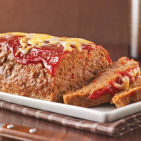 Cheesy Turkey Meatloaf Recipe