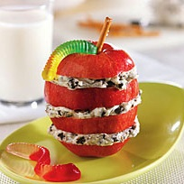 OREO-Apple Snack Stacks Recipe