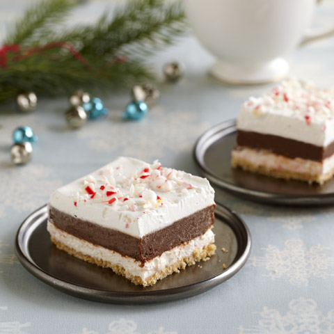 Chocolate-Peppermint Striped Delight Recipe