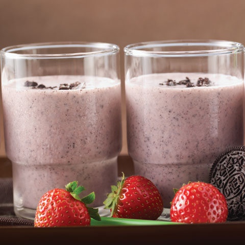 OREO Strawberry Cheesecake Milkshake Recipe