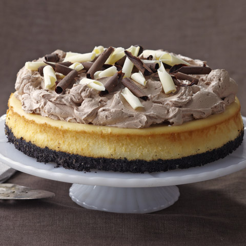 Triple-Chocolate Cheesecake Recipe