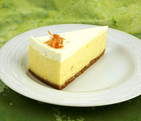 Coconut Lime Cheesecake made with Golden OREO Cookies Recipe