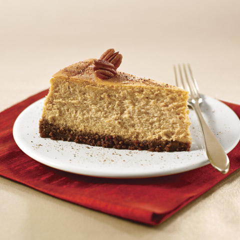Spiced Pumpkin Cheesecake Recipe