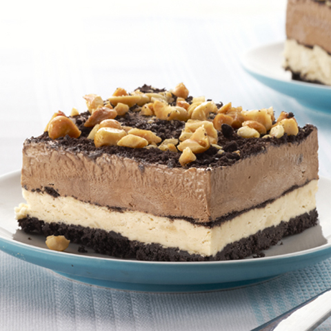 OREO Peanut-Chocolate Mud Pie Squares Recipe