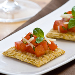 TRISCUIT Bruschetta Recipe