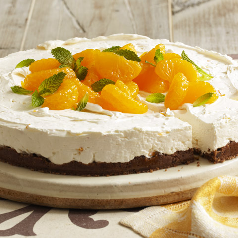 Citrus No-Bake Cheesecake Recipe