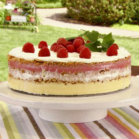 Gâteau aux sorbets étagés P'TITE ABEILLE Recipe