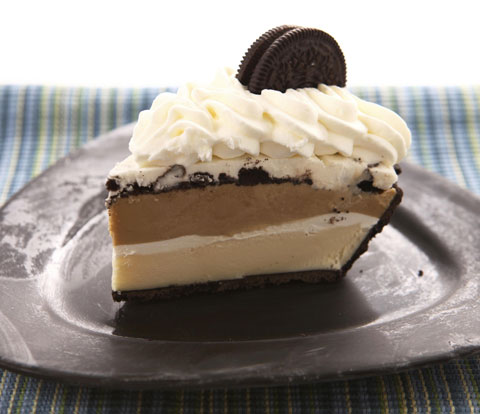 Triple-Layer Mud Pie made with OREO Cookies Recipe
