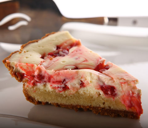 Cherry Cheesecake Pie with HONEY MAID Graham Crust Recipe