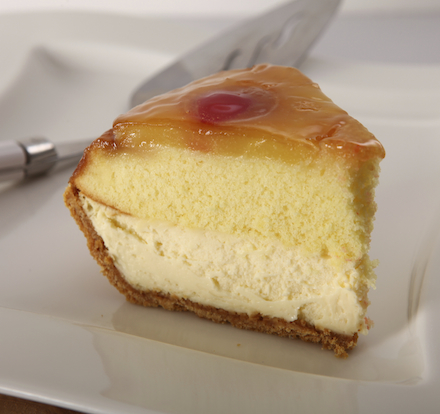 Pineapple Upside-Down Cheesecake Pie with HONEY MAID Graham Crust Recipe