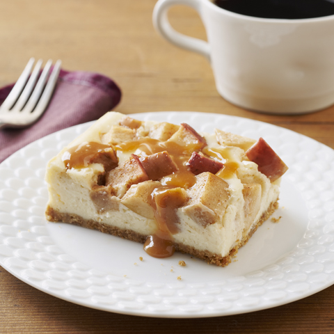 HONEY MAID Caramel-Apple Cheesecake Recipe