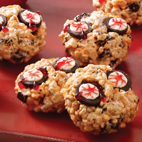 OREO Creepy Eyes Crispy Balls Recipe