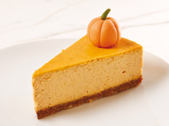 Spiced Pumpkin Cheesecake with NABISCO Grahams Recipe