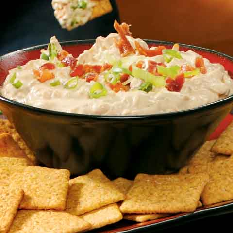 Smokin Chipotle Bacon-Onion Dip Recipe