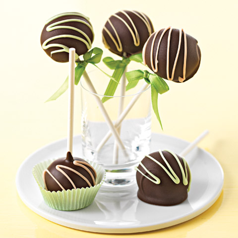 Chocolate Truffle Cookie Pops Recipe