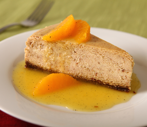 Gingerbread Cheesecake with Orange Sauce and NABISCO Cookies Recipe