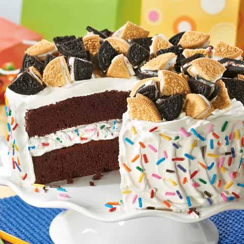 Birthday Quake Cake Recipe