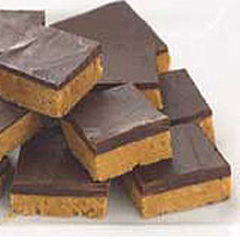 No-Oven HONEY MAID Peanut Butter Squares Recipe