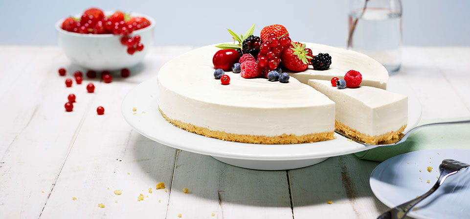 Fertige philadelphia torte