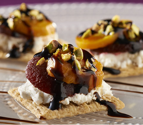 Roasted Beet & Goat Cheese Topper Recipe
