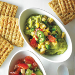 TRISCUIT Layered Guacamole Dip Recipe