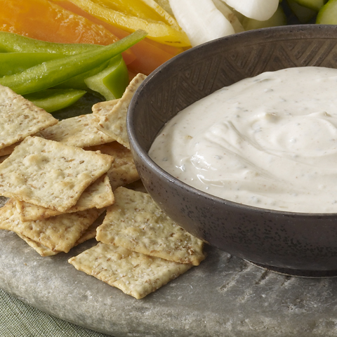 WHEAT THINS Creamy Masala Dip Recipe