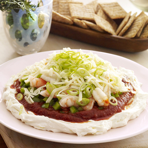 TRISCUIT Seafood Layered Dip Recipe