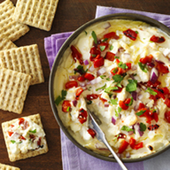 TRISCUIT Greek Antipasto Dip Recipe