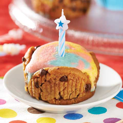 Birthday Tie-Dye Cupcakes Recipe