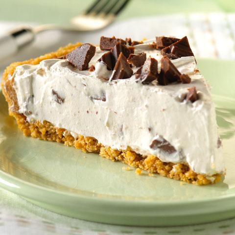 Creamy S'more Pie Recipe