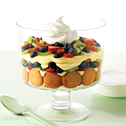 Spring Fruit Trifle Recipe