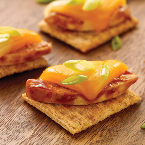 Cheesy BBQ Chicken TRISCUIT Recipe
