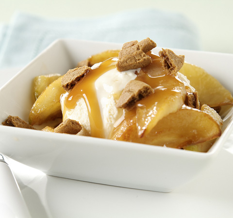 Caramel Apple Sundaes Recipe