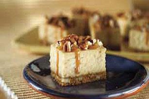 Double Caramel-Pecan Cheesecake Bars Recipe