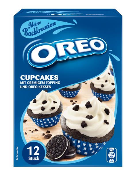 Meine Backkreation Oreo Cupcakes Mit Cremigem Topping Und Oreo Keksen