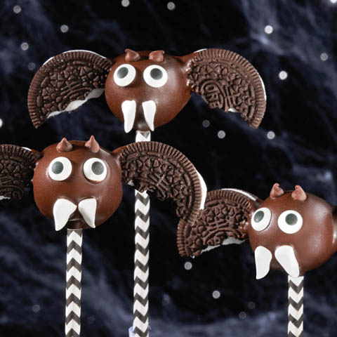 OREO Bat Cookie Ball Pops Recipe