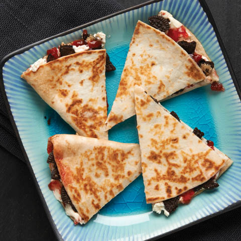 OREO PB&J Quesadilla Recipe