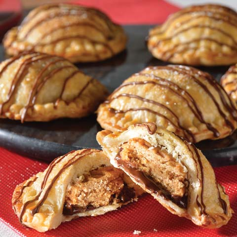 Chocolate-Peanut Butter Hand Pies Recipe