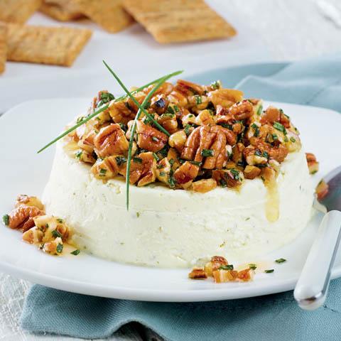 Garlic, Herb & Nut Cheese Spread Recipe