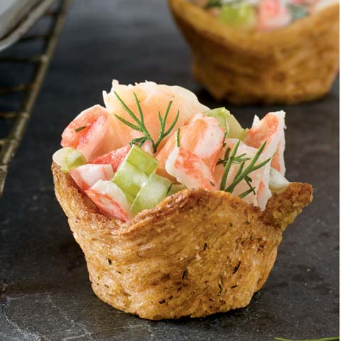 "TRISCUIT Seafood ""Tartlets"" Recipe"