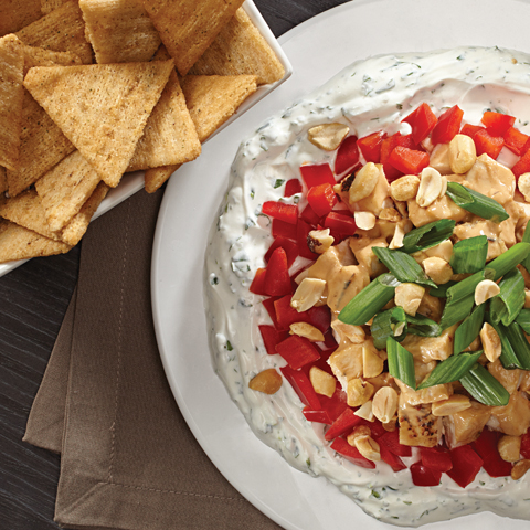 TRISCUIT Teriyaki Chop Dip Recipe