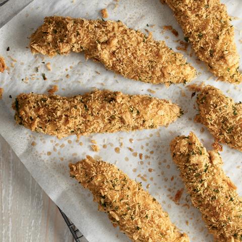 Tendres de poulet au romarin et à l'huile d'olive TRISCUIT Recipe
