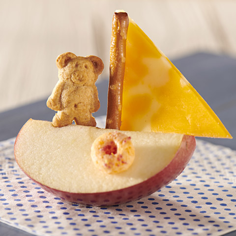 Easy Apple Sailboat Recipe