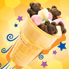 Easy Teddy Rocket Cone Recipe
