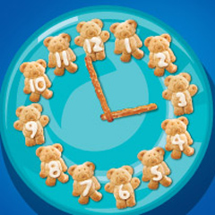 Telling Time with Teddy Recipe